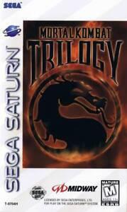 Mortal Kombat Trilogy Sega Saturn Great Condition Fast Shipping