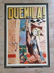 Poster Duemila! Tanino Liberatore Polistampa Roma 1984 - Italia - Poster Duemila! Tanino Liberatore Polistampa Roma 1984 - Italia