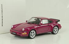1990 Porsche 911 964 Turbo sternrubin 1:24 Welly Museum MAP
