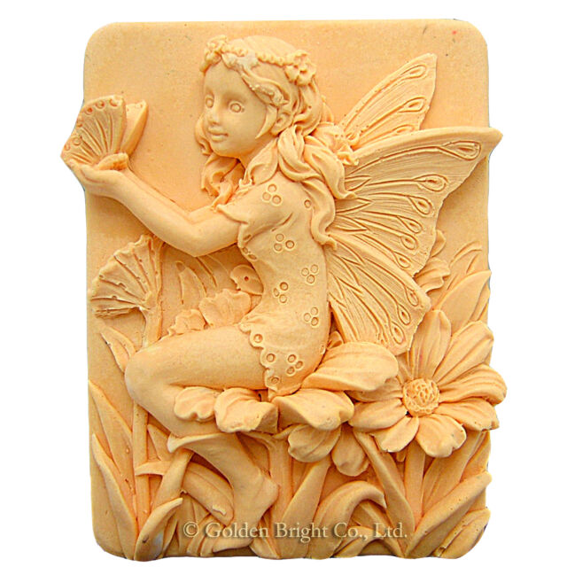 egbhouse, 2d Silicone Soap/plaster/polymer clay Mold – Peaceful Penny Fairy