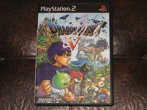 Dragon-Quest-V-Playstation-2-PS2-JP-Japan-Import-Dragon-Warrior-5