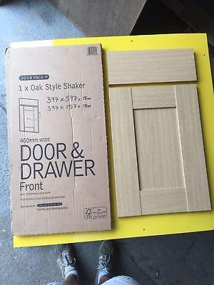 DRAWER PACK EEDL OAK STYLE SHAKER KITCHEN CORNER BASE DRAWERLINE DOOR 4558