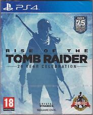BRAND NEW RISE OF THE TOMB RAIDER PS4 GAME (SPECIAL EDITION INCLUDES LE ARTBOOK)