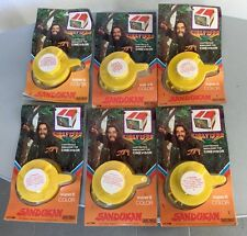 VINTAGE 80s# SANDOKAN SUPER 8 COLOR MUPI CINEVISOR # 6 PELLICOLE SERIE COMPLETA