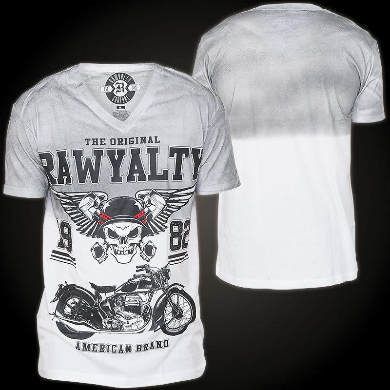 RAWYALTY T-Shirt Bopper Grau T-Shirts Herren  Rawyalty