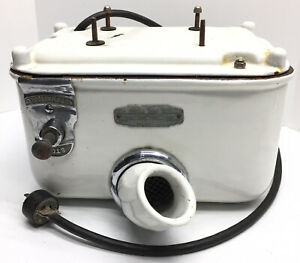 Rare-Vintage-Sani-Dry-Porcelain-Hand-Dryer-Gas-Service-Station-Gas