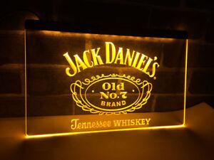Jack-Daniels-Whisky-Bier-Leuchtreklame-Neonzeichen-Leuchtschild-Leuchte-lampe