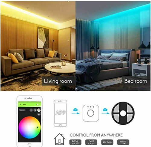 ZigBee ZLL Controller RGB+CCT Led Strip SMD5050 Flexible Light Set For Echo Plus