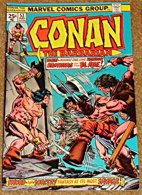 CONAN THE BARBARIAN MARVEL 53 1970 1st SERIES NM GIL KANE JOHN ROMITA