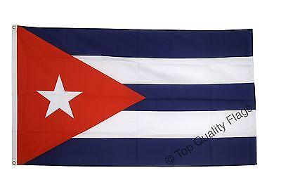 Cuba FLAG cuban Banner 90x150cm - 5ftx3ft