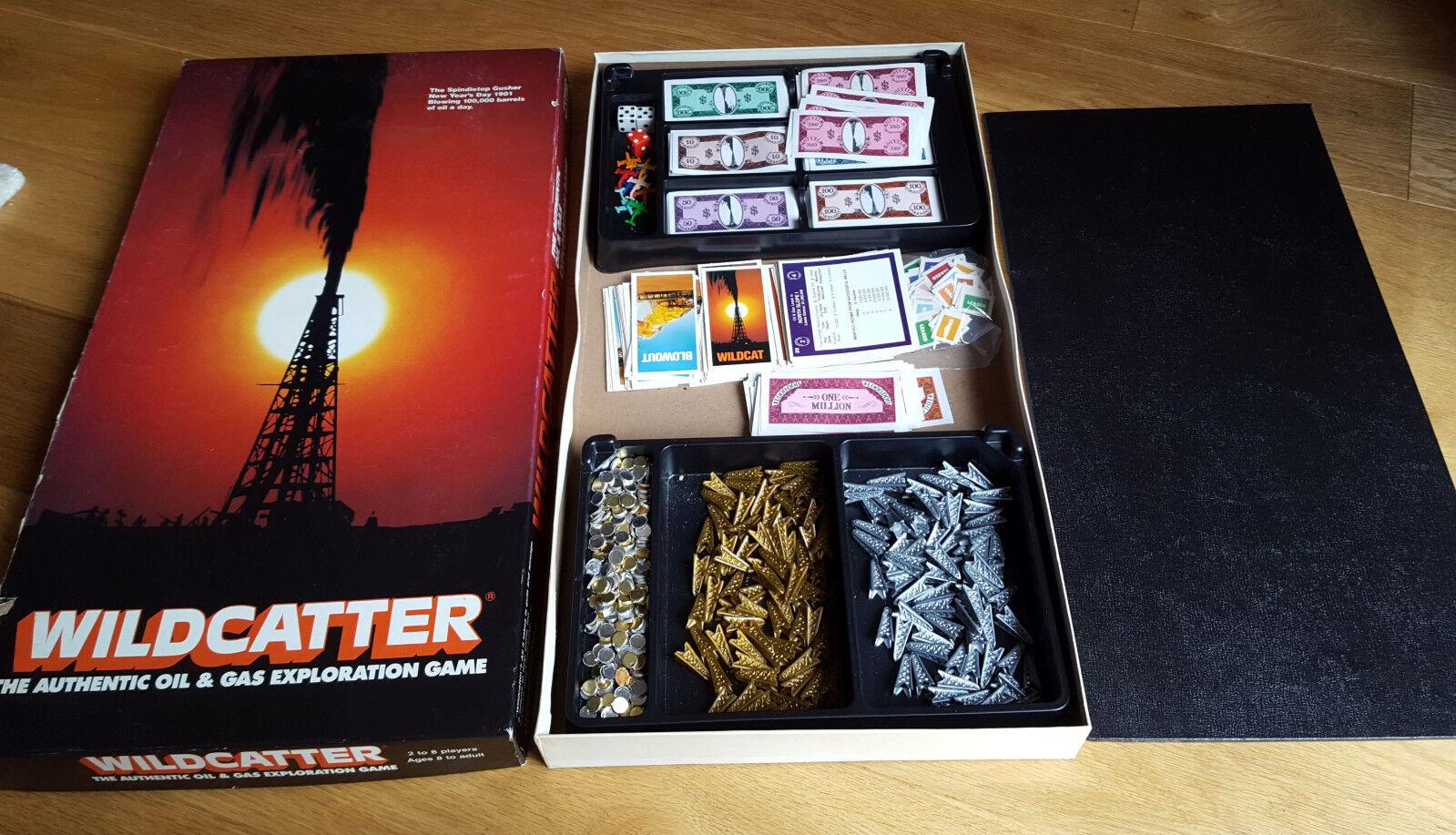 Rare, Vintage Wildcatter Board Game - Oil and Gas Exploration Ken Kessler 1981
