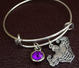 Details About Weight Lifting Bracelet Charm Workout Fitness