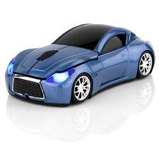 2.4GHz Wireless 3D 1600DPI Infiniti Car Shape Optical Usb Cordless Gaming Mouse
