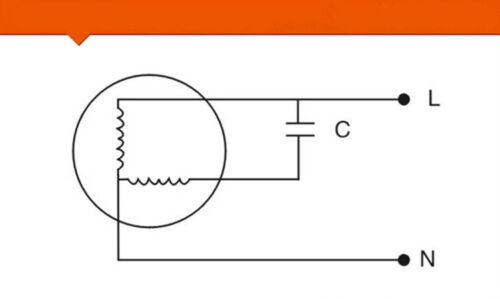 CBB61 8mfd 8uf 450 V Volts courant alternatif 50//60Hz résine époxy Scellé Ventilateur de plafond Condensateur