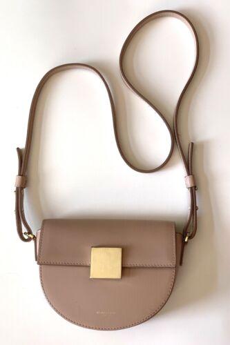 DeMELLIER London Oslo Leather Crossbody Bag Small