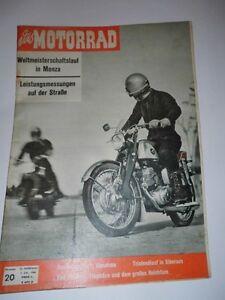 Das-MOTORRAD-Zeitschrift-Nr-20-von-1960