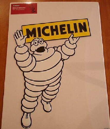 PLAQUE METAL SERIGRAPHIEE 28X36cm BIBENDUM PNEU MICHELIN 3
