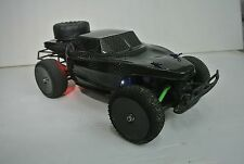 TRAXXAS 1/16 SLASH/RALLY CONCEPT DESERT TRUCK CARBON FIBER BODY  W/ LED LIGHT