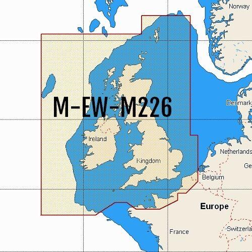 Map Of Uk Ireland.C Map Max Wide W88 M Ew M226 Sd Card Uk Ireland And English