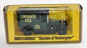 MATCHBOX-Models-OF-YESTERYEAR-Y-5-1927-TALBOT-VAN-riceviamo-il-te-Vintage-Diecast