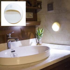 Led Pir Motion Sensor Night Light, Bathroom Battery Light