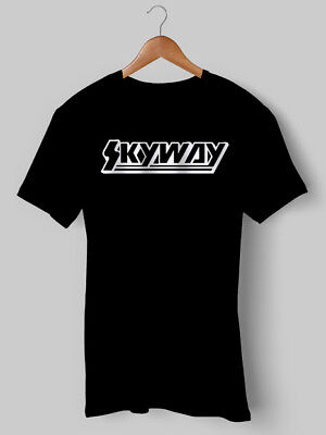 Volitivo Skyway-shirt Tee T Bmx Ciclismo Bici Top Retrò Old Skool 80s Stampato Jersey Top-