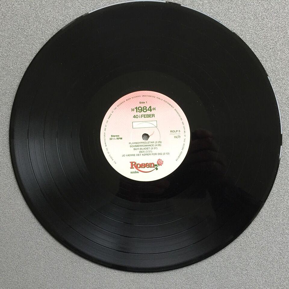 LP, 40 I Feber, 1984