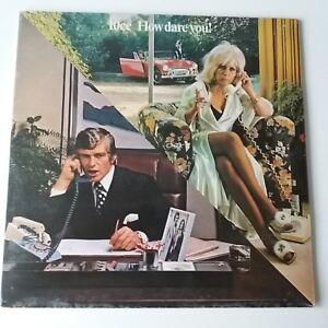 10CC-How-Dare-You-Vinyl-Album-LP-Original-UK-1st-Press-EX-EX