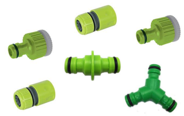 "GARDEN HOSE PUSH ON QUICK CONNECTOR 1//2/"" Silverline 598479"