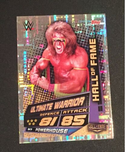 Topps Slam Attax univers 2019 The Ultimate Warrior Hall Of Fame carte