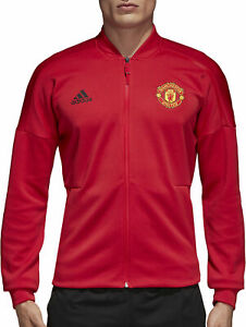14509d57a268e7 Image is loading adidas-Manchester-United-Z-N-E-Men-039-s-Jacket-