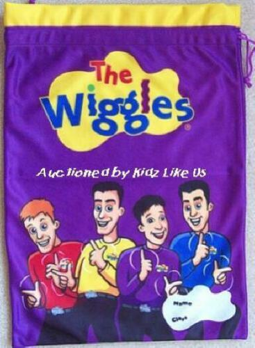 ~ Wiggles BOOK TOY PAJAMAS CLOTHES SHOES WASHING BAG SCHOOL CAMPING LUGGAGE