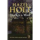 Death is a Word by Hazel Holt (Hardback, 2014)