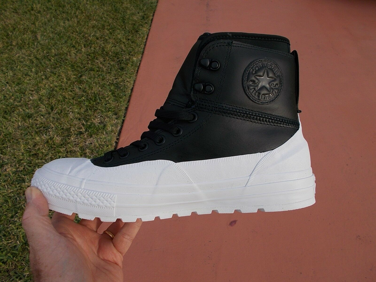 Men's Converse Chuck Taylor Tekoa Waterproof Boot White 153657C   Size 9.5