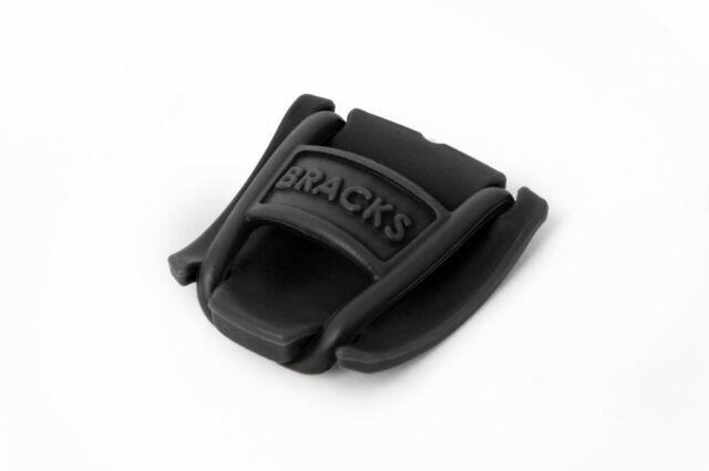 a pair Black Lace Lock Bracks Shoelace clips Black Keep your laces tied