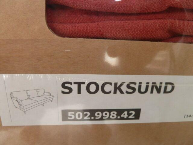IKEA Stocksund Bezug Cover für 3,5 Sofa Ljungen rot 502.998.42 NEU OVP