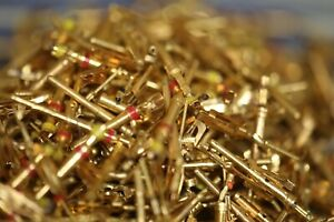 1 oz 24K Gold plated pins