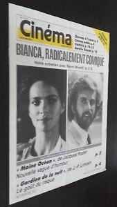 Revista-Semanal-Cinema-Semana-de-La-16A-22-Abril-1986-N-350-Buen-Estado