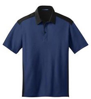 Port Authority Men's Color Block Silk Touch Golf Polo Shirts NEW M L XL-4XL K529