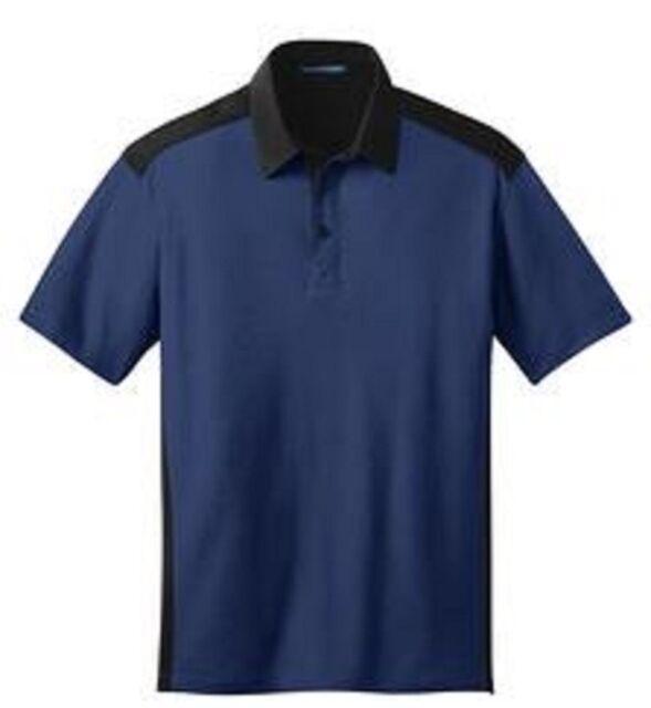 Port Authority Men's Color Block Silk Touch Golf Polo Shirts NEW M L XL-4XL K529