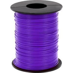 100 Meter Litze Blau 0,14mm² Kupferschaltlitze LIY Kabel auf Spule