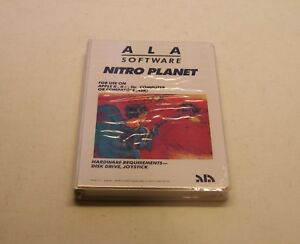 VERY-RARE-Nitro-Planet-by-ALA-Software-for-Apple-II-II-IIe-IIc-IIGS-NEW