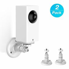 Wyze Cam Outdoor and Other Camera with Same Interface 3 Pack BFYTN Wall Mount Compatible with Wyze Cam Pan,360 Degree Adjustable Indoor and Outdoor Security Mount for Wyze Cam Pan