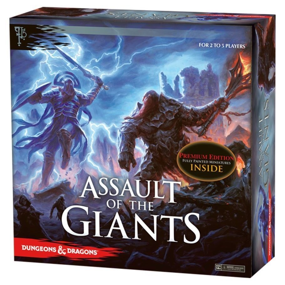 Premium Edition - Assault of the Giants Board Game - Dungeons & Dragons - New