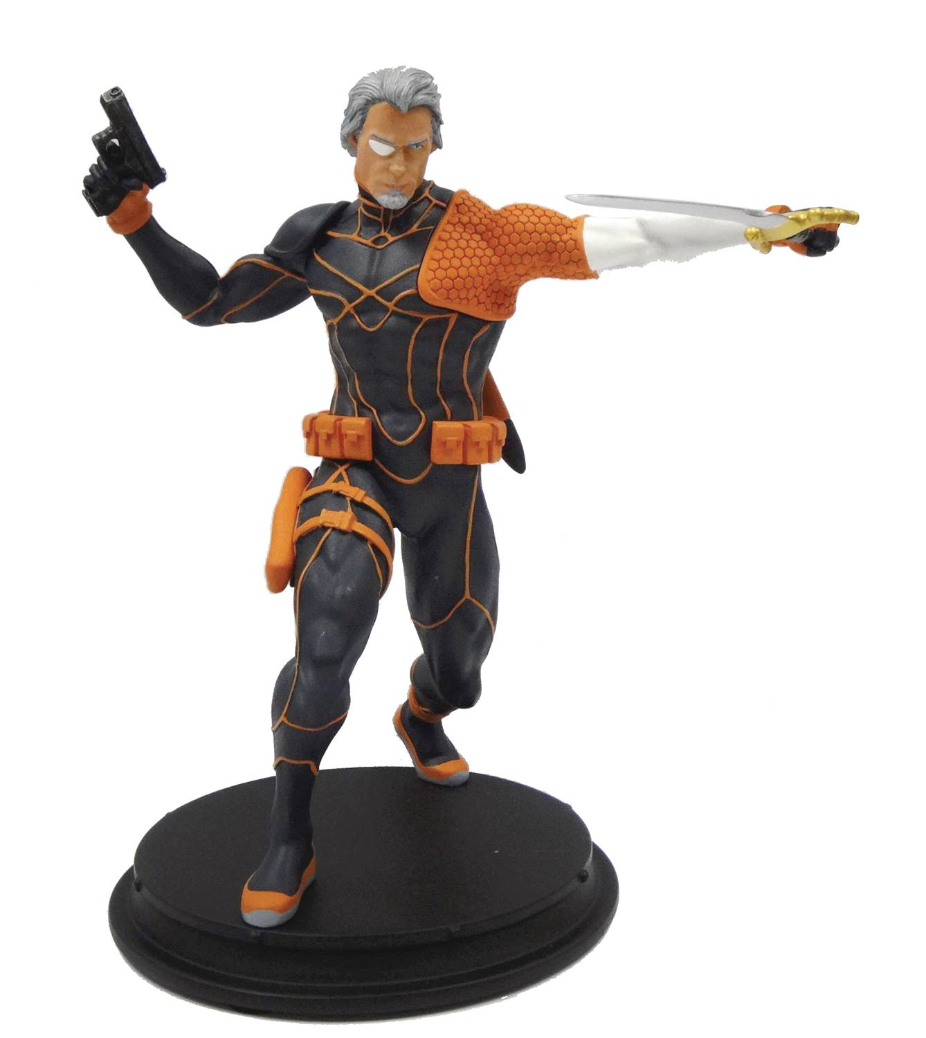 Dc Comics Rebirth Deathstroke Unmasked PX Statue Icon Heroes