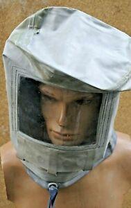 RARA ABC cappa di gomma testa disconosciuta CORONA sputa protezione mai indossati rarità