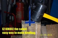 wood burning stove kindling maker no axe safe easy best thing you will ever buy