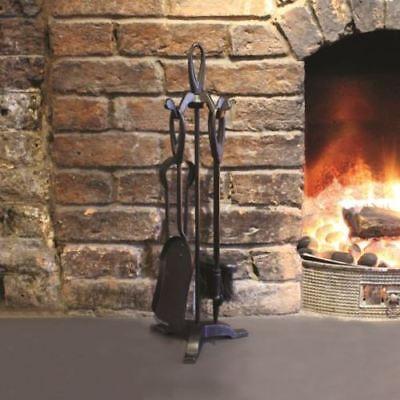 New Traditional Fireplace Companion Set Home Tool 5pc Fire