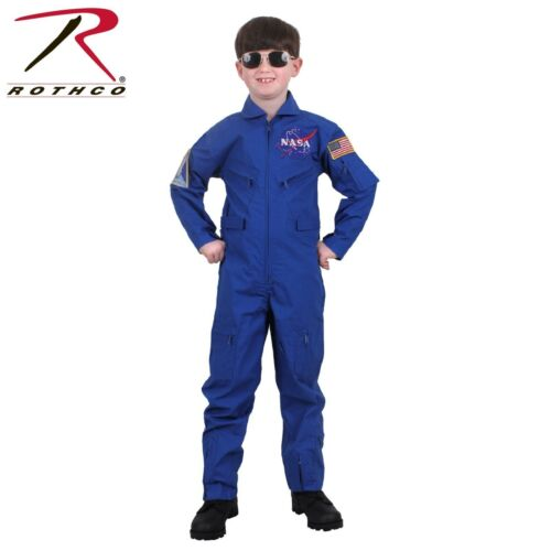 Rothco Kids Flight Suit Kids NASA Flight Coveralls With Official NASA Patch