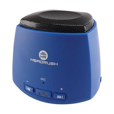 HeadRush Portable Bluetooth Speaker - Boom - Blue